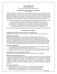 Sample Resume For Hr 60 Exclusive Sample Hr Generalist Resume Ic U60 Resume Samples 60