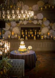 elegant black and white wedding country club wedding celebration