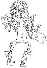 Small Picture Lagoona Blue Monster High Coloring Page Coloring Pages of
