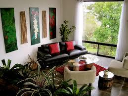 Contemporary Living Room Furniture Ideas Black Leather Cushion - Comfy living room furniture