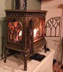 rustic gas stove inserts