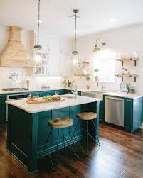 various teal kitchen. Designers Are Loving This Color For Kitchen Cabinets Right Now - Dark Teal Various Pinterest