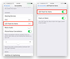 Make Light Flash On Iphone When Phone Rings How To Set Your Iphone Cameras Led Flash To Notify You Of