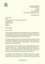 letter expressing concern