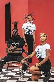 Afrikanista x <b>Black Square</b> French <b>Brand</b>