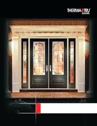 therma tru fiberglass entry doors exterior doors full line catalog building entry patio door directory entry therma tru fiberglass entry doors