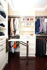 walk in closets ideas also an ironing board is a great addition to a walk in closet if you want diy walk in closet ideas