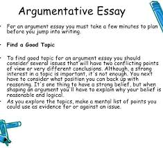 An Example Of An Argumentative Essay Conclusion Paragraph For Argumentative Essay Fieldstation Co With