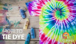 how to tie dye basics