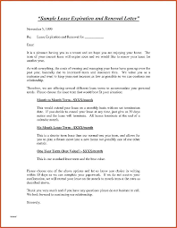Free Not Renewing Lease Letter Luxury Contract Sample Of Non