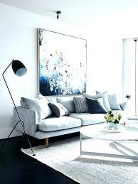 wall art behind couch nouveau decorating over sofa how to hang a space