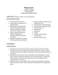 Targeted Resume Victim Advocate. Megan Fowler 459 Austin Road Honolulu, HI  96819 (719) 238-0711 megan ...