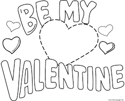 Small Picture Free Printable Valentines Day Coloring Pages Pilular Coloring