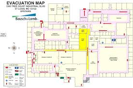 Evacuation Plan Sample Fire Evacuation Plan Template Associates Safety Plans Office