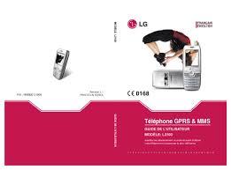 LG L3100 - LG - Manuel ...