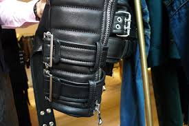 steal of the day balmain black cotton linen biker jacket second kulture