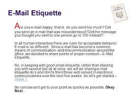 Etiquette Are You Happy That Is Do You Send Too Much Did You