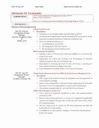 Cio Resume Sample Best Of New Cio Resume Sample Elegant It Help Desk