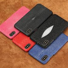 stingray leather iphone xs max xs x case luxury case for iphone xs