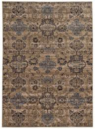 tan and blue area rug awesome light global distressed pattern wool woodwaves of brown rugs cool
