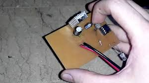 Homemade Solar Lights Automatic Solar Night Light 7805 Youtube