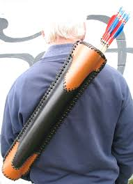 back quiver hard wearing leather 12104 p jpg
