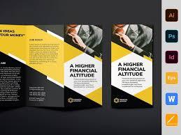 Financial Advisor Brochure Trifold By Brochure Design On