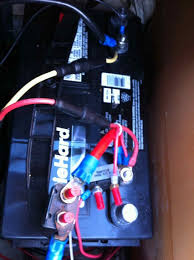 trolling motor battery issues 1997 pantera ii in basscat boats forum you can see the circuit breakers on the positive wires for the trolling motor and the gauge