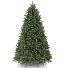 Martha Stewart Living 12 Ft PreLit LED Blue Noble Spruce 12 Ft Fake Christmas Tree