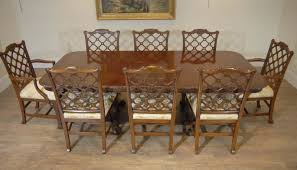 english chippendale gany table gothic chair dining set ebay