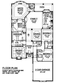 side entrance house plans wonderful craftsman with entry garage showy floor