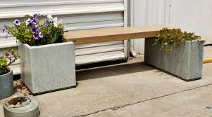 how to make a park ave concrete bench and planter cheng concrete exchange