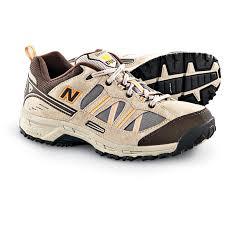 new balance hiking shoes. men\u0027s new balance 644 country walking shoes, brown hiking shoes
