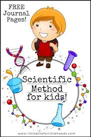 Scientific Method Chart Of Steps Scientific Method For Kids With Examples Little Bins For
