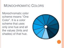 Definition Of Monochromatic Colors task 3 : research on