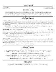 Cook Job Description For Resume Delectable Chef Sample Resume Chef Sample Resume Baker Pastry Chef Sample