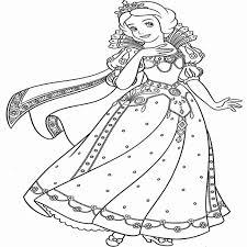 Disegni Principesse Da Colorare E Stampare Principesse Da Stampare