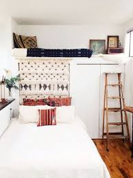 Bedroom: Bedroom Lofted With Full Kitchen - Loft Bed Ideas
