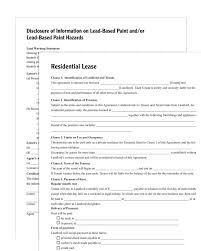 Residential Lease Residential Lease Forms and Instructions 1
