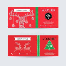 New Year Card Design Elegant E Gift Certificate Template