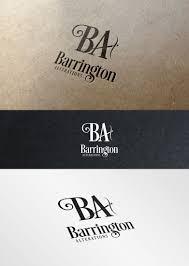 Barrington Design Modern Professional Department Store Logo Design For