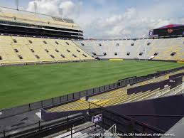 Lsu Tiger Stadium View From East Bleachers Vivid Seats