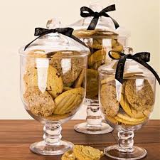 Decorative Glass Candy Jars A glass jar with lid decoration glass candy jars of transparent 1