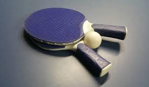 Resultado de imagen de ping pong raqueta