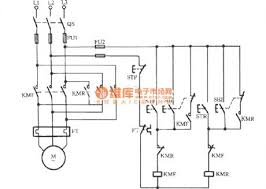 index relay control control circuit circuit diagram three phase motor contactor interlock action for switching circuit