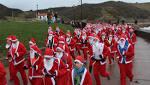 Saint Catherine's Santa Dash in Scarborough
