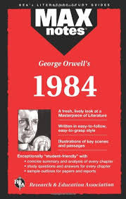 com george orwell s max notes  com george orwell s 1984 max notes 9780878919963 karen brodeur george orwell books