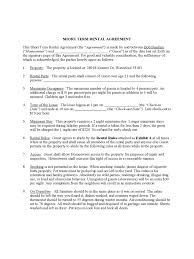 Free printable equipment rental agreement sample. Short Term Rental Contract Sample Form Free Download