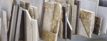 natural stone yard with remnants