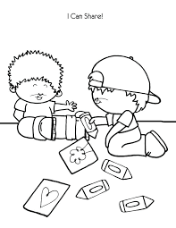 Sharing Coloring Page Sharing Coloring Pages 9 Free Sharing Coloring